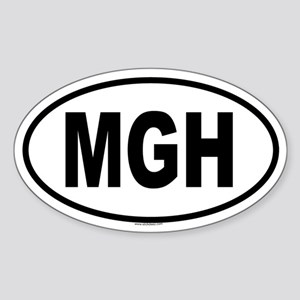 MGH Oval Sticker