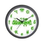 Oxymoron Wall Clock