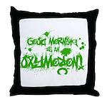 Oxymoron Throw Pillow
