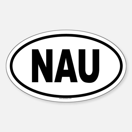 NAU Oval Decal
