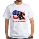 Come and Get It White T-Shirt