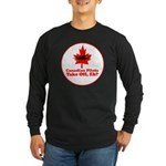 Canadian Pilots Long Sleeve Dark T-Shirt