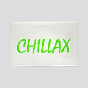 chillax Rectangle Magnet