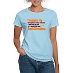 Though I Fly Women's Light T-Shirt