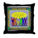 Celebrate Diversity Throw Pillow