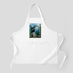 Wonderful fairy with white wolf Light Apron