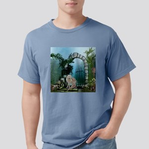 Wonderful fairy with white wolf T-Shirt