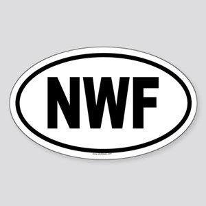 NWF Oval Sticker