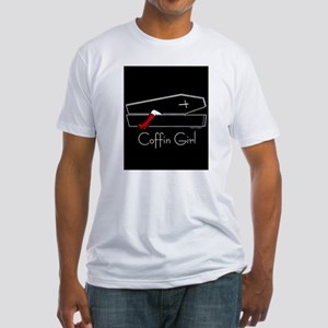 COFFIN GIRL Fitted T-Shirt