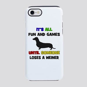 Fun & Games - Weiner iPhone 8/7 Tough Case