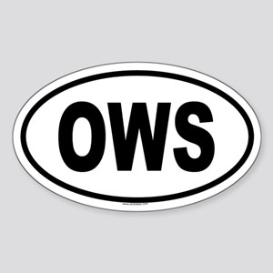 OWS Oval Sticker