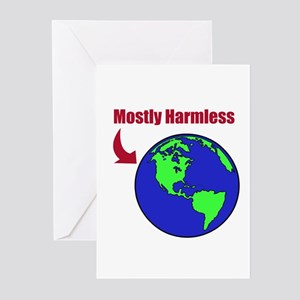 Mostly Harmless Greeting Cards (Pk of 10)