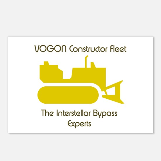 Vogon Constructor Fleet Postcards (Package of 8)