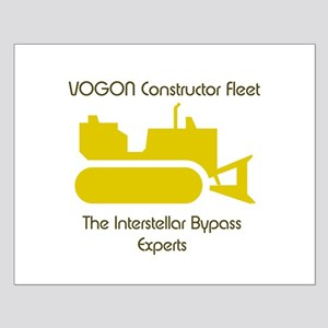 Vogon Constructor Fleet Small Poster