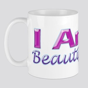 I Am Beautiful Mug