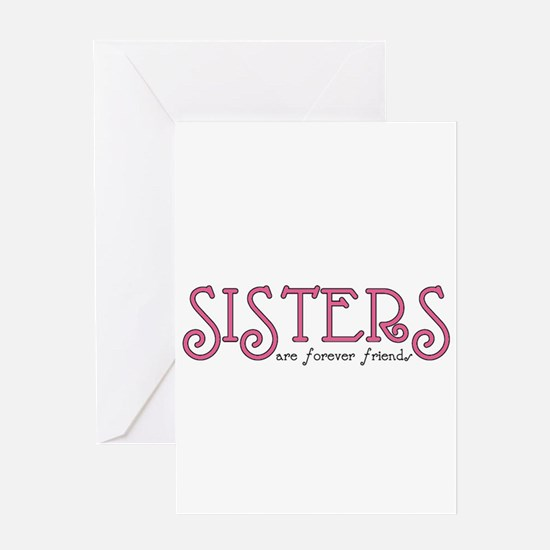 Forever Sisters Greeting Card