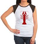 Boiled Crawfish Women's Cap Sleeve T-Shirt