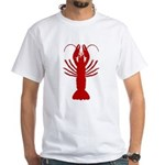 Boiled Crawfish White T-Shirt