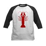 Boiled Crawfish Kids Baseball Jersey