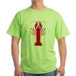Boiled Crawfish Green T-Shirt