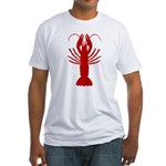 Boiled Crawfish Fitted T-Shirt