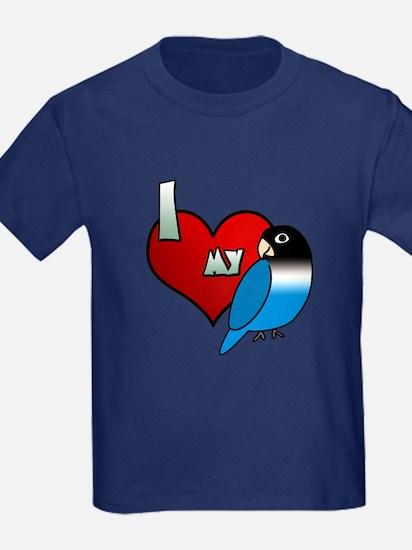 Love Blue Black Masked Lovebird T