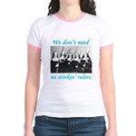 Nuns w/Guns Jr. Ringer T-Shirt