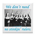 Nuns w/Guns Tile Coaster