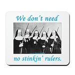 Nuns w/Guns Mousepad