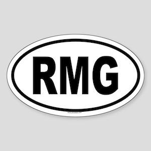 RMG Oval Sticker