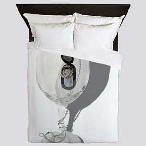 CelebrateSoldierHome053110Shadows Queen Duvet