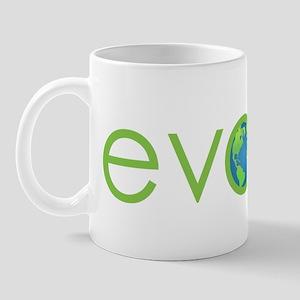 Evolve - planet earth Mug