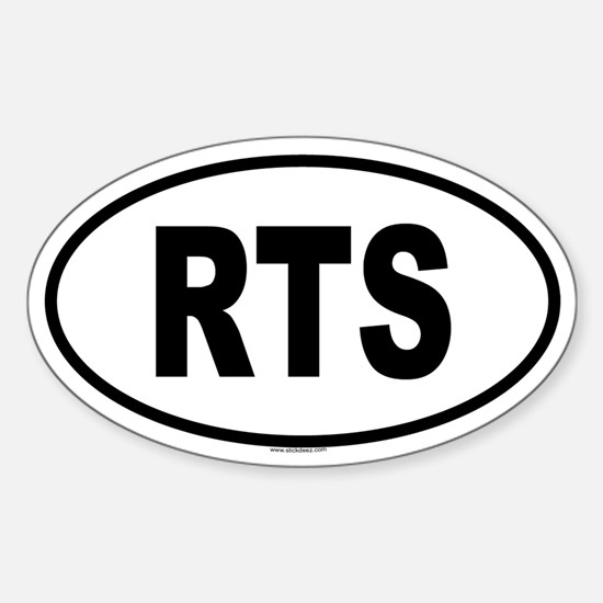 RTS Oval Decal