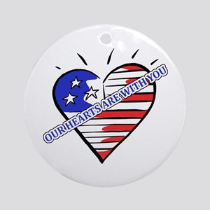 Valentine's for Military Ornament (Round)