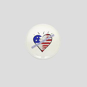 Valentine's for Military Mini Button