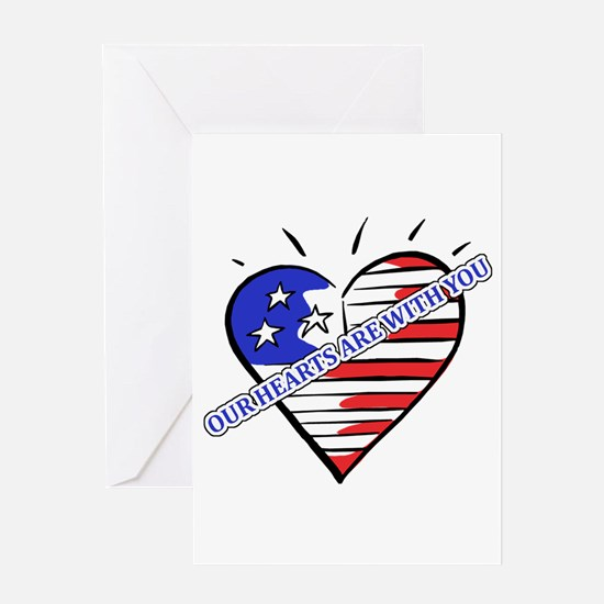 Valentine's for Military Greeting Card