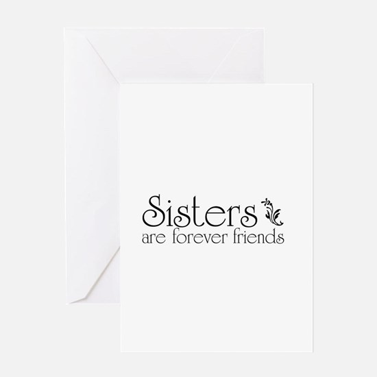 Forever Sisters 3 Greeting Card