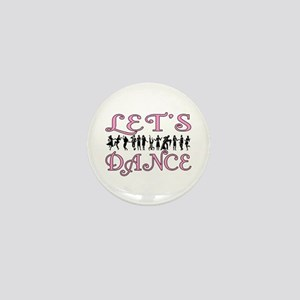 Let's Dance Mini Button