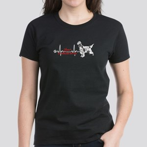 ENGLISH SETTER HEARTBEAT SHIRT T-Shirt