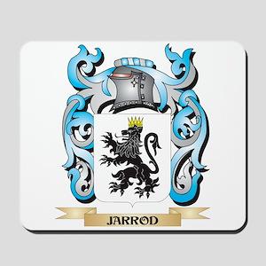 Jarrod Coat of Arms - Family Crest Mousepad