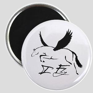 I Fly Horse Magnet