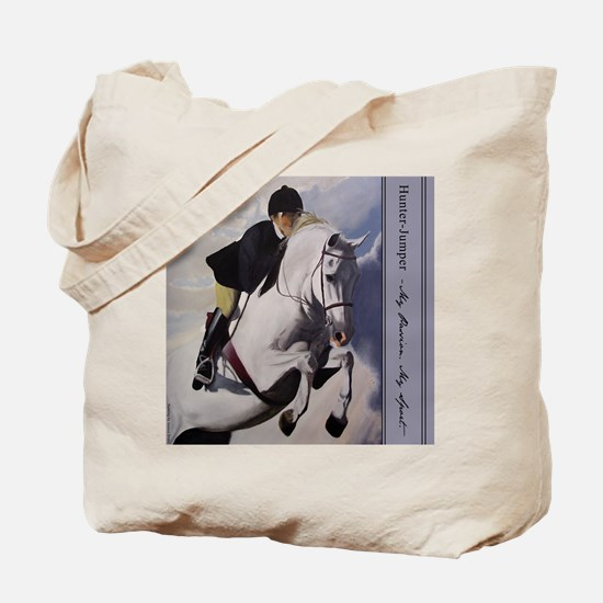 Jumper Horse Tote Bag