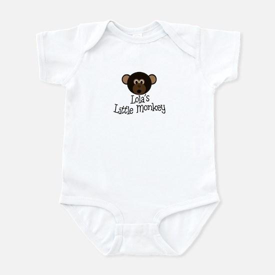 Lola's Little Monkey BOY Infant Bodysuit