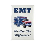 EMT We Are The Difference Rectangle Magnet