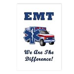 EMT We Are The Difference Postcards (Package of 8)
