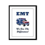 EMT We Are The Difference Framed Panel Print