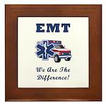 EMT We Are The Difference Framed Tile