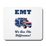 EMT We Are The Difference Mousepad