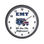 EMT We Are The Difference Wall Clock