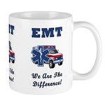 EMT We Are The Difference Mug